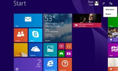 Aktualizacja dla Windows 8.1 może pojawić się w marcu