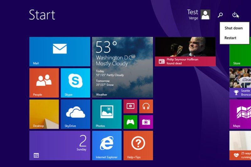 Testowy Windows 8.1 Update 1 wyciekł do sieci