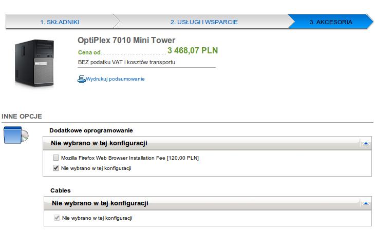 Instalacja przeglądarki Firefox za 120 zł? Tak, w firmie Dell