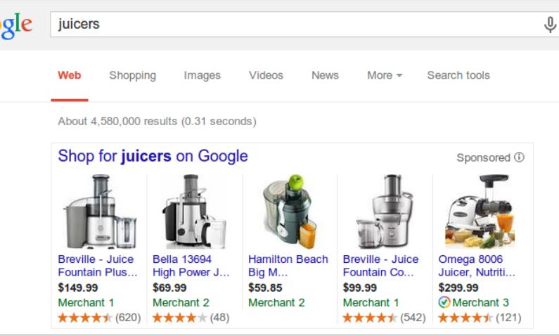 Google wprowadzi recenzje reklamowanych produktów
