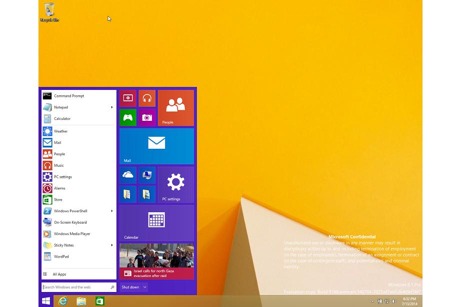 Windows 9 – stare szaty króla