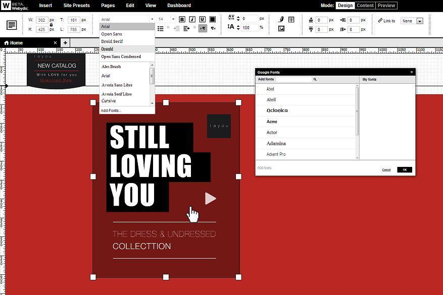 Webydo zawalczy z Adobe o serca projektantów