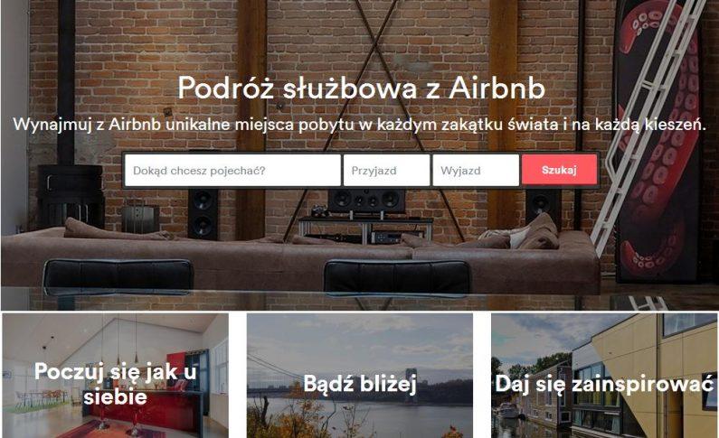 Airbnb pomoże zaplanowawać podróże służbowe