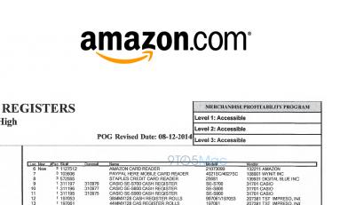 Amazon wprowadza czytnik kart płatniczych