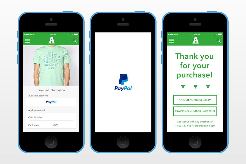 PayPal One Touch – szybsze płatności mobilne