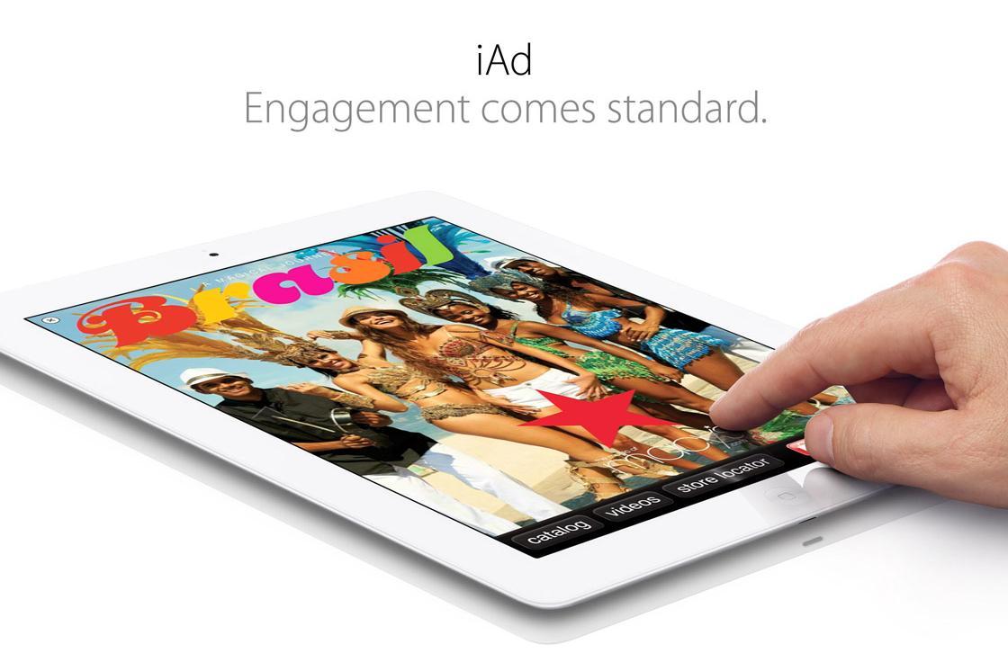 Większe reklamy w urządzeniach Apple