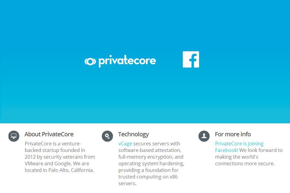 Facebook inwestuje w bezpieczeństwo i przejmuje PrivateCore
