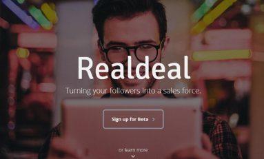 Realdeal - nowe oblicze sprzedaży w social media