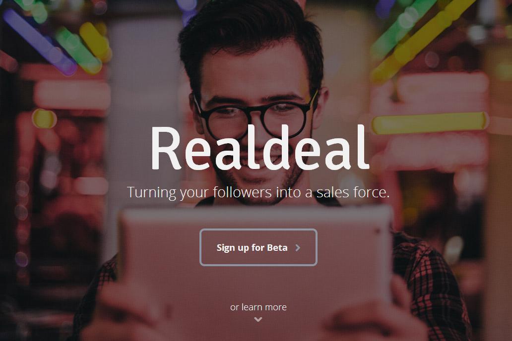 Realdeal – nowe oblicze sprzedaży w social media