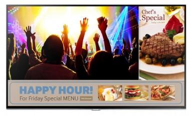 Telewizory biznesowe od Samsunga