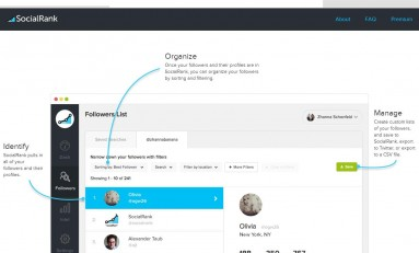 SocialRank 2.0– zobacz, kto śledzi cię na Twitterze