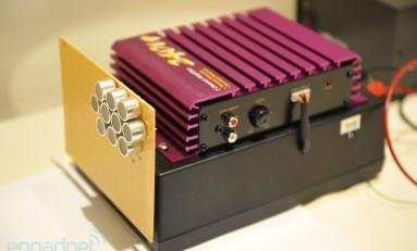 Baterie ładowane ultradźwiękiem