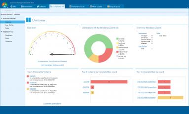 Client Management baramundi - automatyczne eliminowanie exploitów