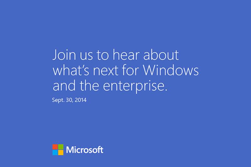 Windows 9 ujrzy światło dzienne 30 września