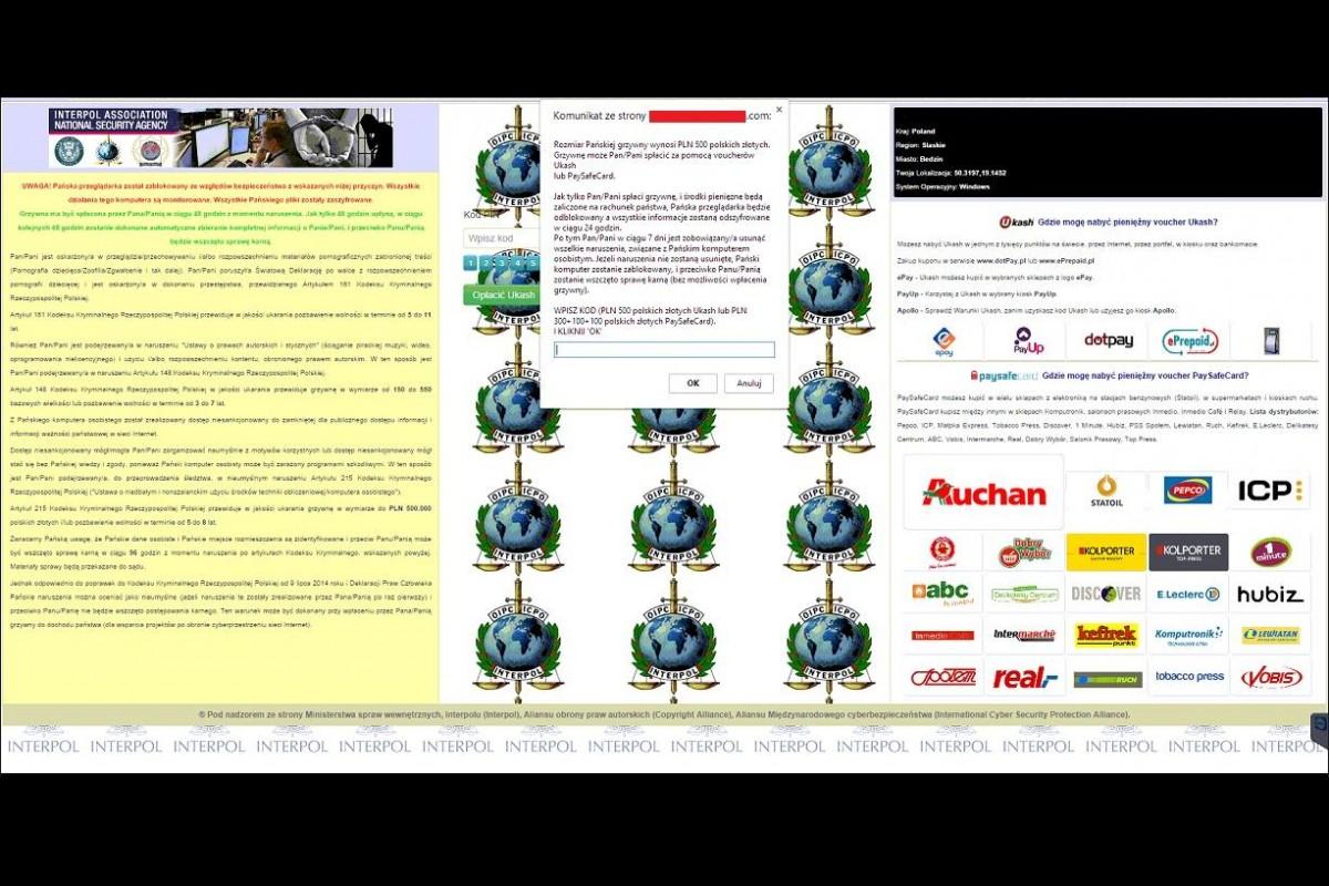 [IP]: Nowy LockScreen żąda 500 złotych okupu