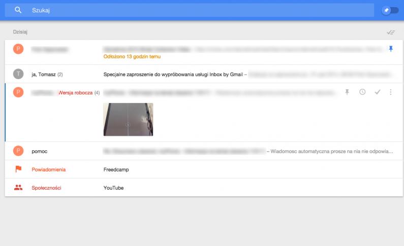 Inbox zamiast Gmaila? Nie, dziękuję, jeszcze nie teraz.