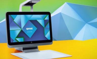 HP Sprout w połączy komputer stacjonarny z tabletem