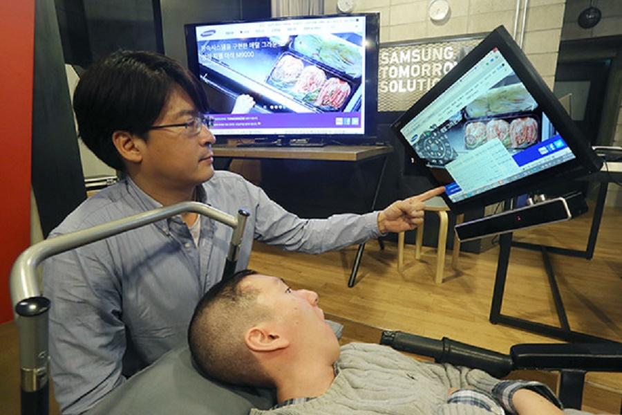 Kamera dla sparaliżowanych od Samsunga