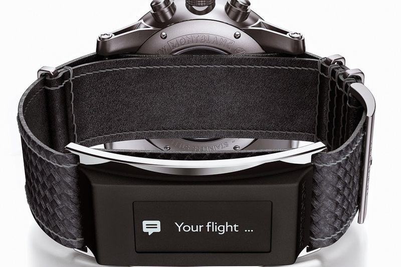 Inteligentne zegarki według Montblanc