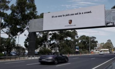 Reklama spersonalizowana według Porsche