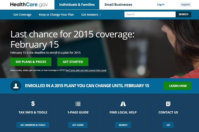 Amerykański portal HealthCare.gov udostępnia dane firmom zewnętrznym