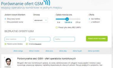 Porównywarka GSM od Comperii