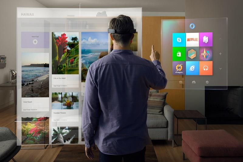 Rzeczywistość rozszerzona według Microsoftu