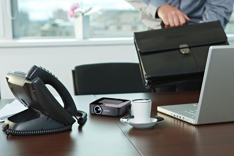 [IP]: Projektor kieszonkowy w firmie