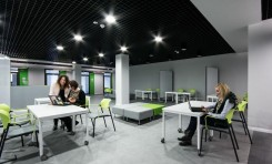 Biznes IT, sztuka i nowinki technologiczne - uroczyste otwarcie nowych budynków Technoparku Pomerania