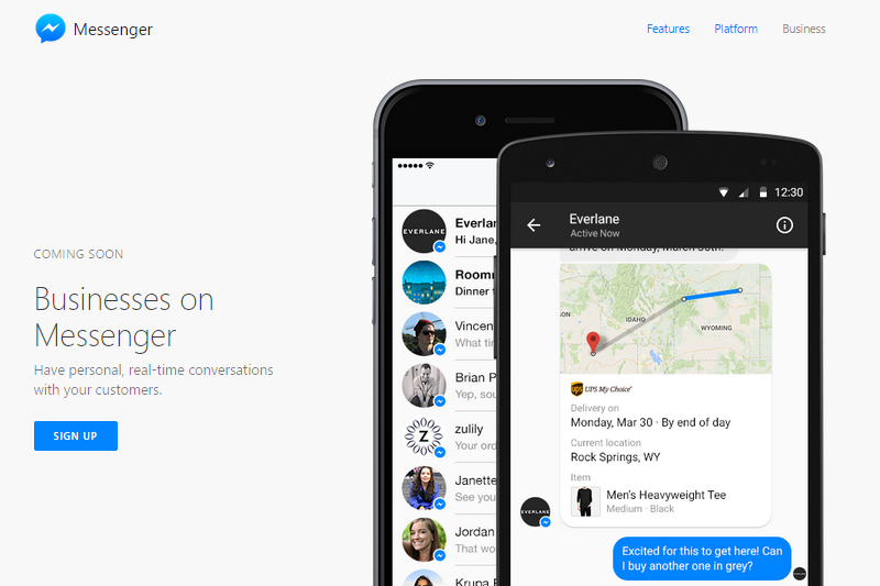 Facebook Messenger trafia do przeglądarki