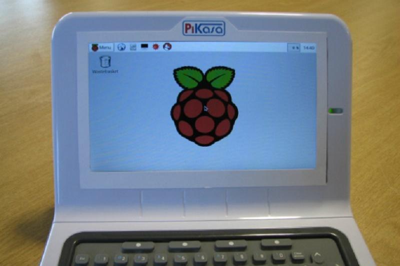 PiKasa – netbookowa obudowa dla Raspberry Pi