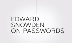 Edward Snowden o hasłach