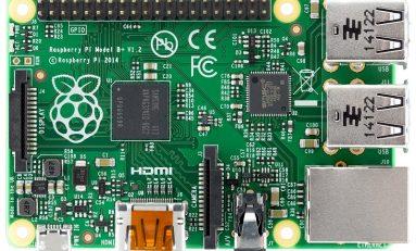 Raspberry Pi B+ potaniało