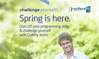 """Weź udział w wiosennejodsłonie kampanii """"Challenge yourself!"""""""