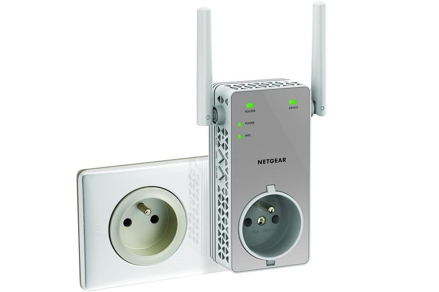 [IP]: Netgear EX3800 – pierwszy wzmacniacz sygnału AC750 wpinany do kontaktu z dodatkowym gniazdem elektrycznym