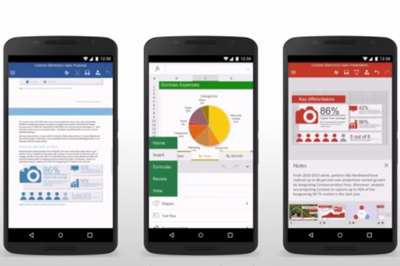 Darmowy Microsoft Office na smartfony z Androidem