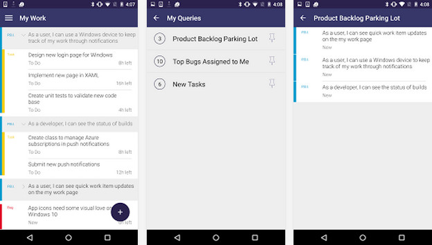 Work Item Studio – pracuj z Visual Studio Online na Androidzie