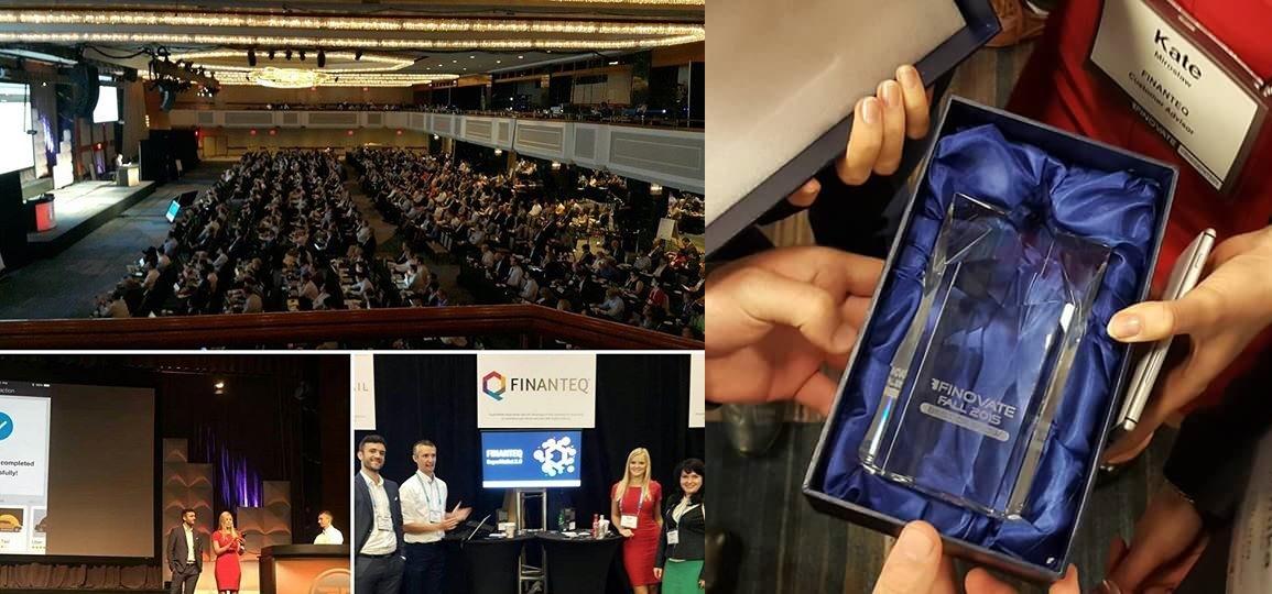 Finanteq z główną nagrodą na Finovate w Nowym Jorku