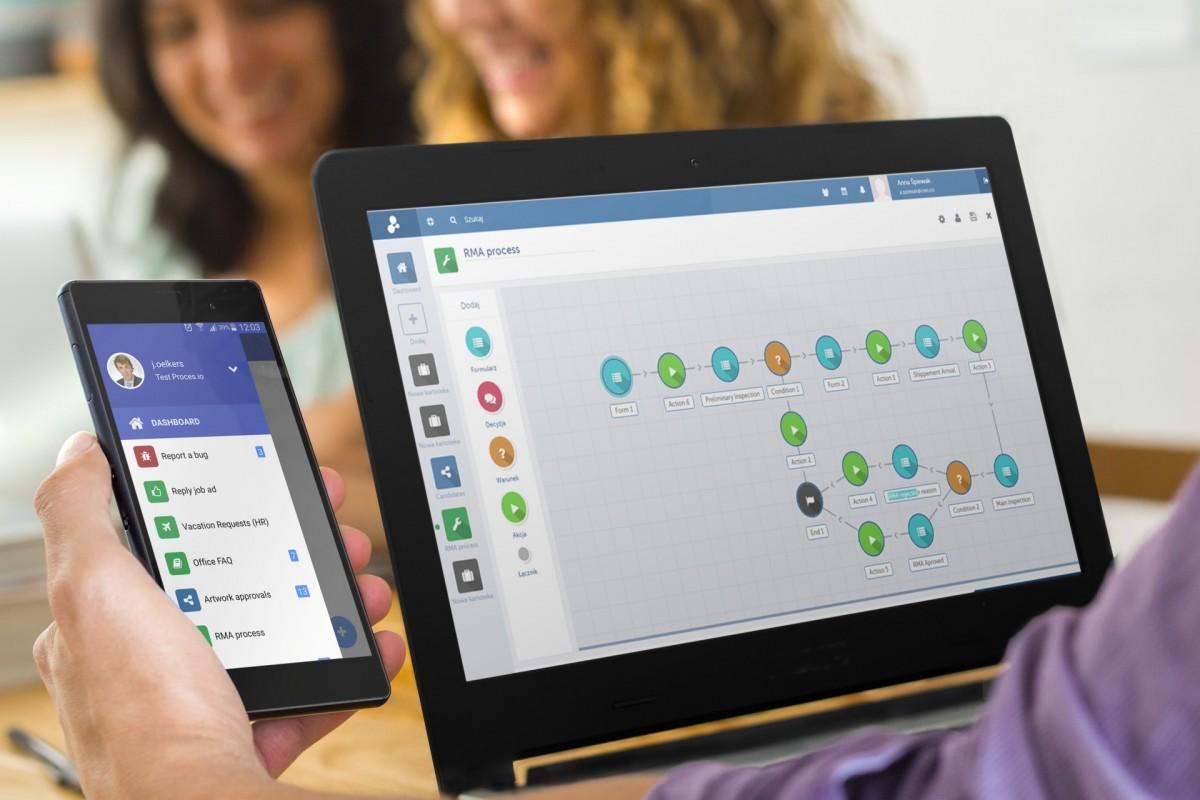 Proces.io – polski startup zwiększy efektywność firm