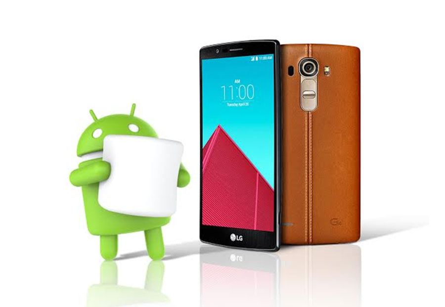 Android 6.0 Marshmallow dla  LG G4