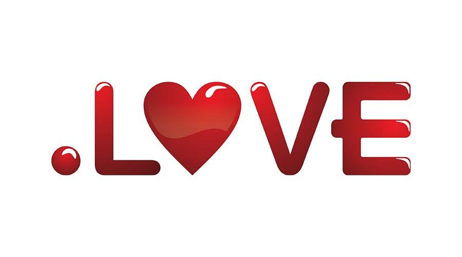 Miłość w sieci. Domeny .love i .wedding już dostępne.