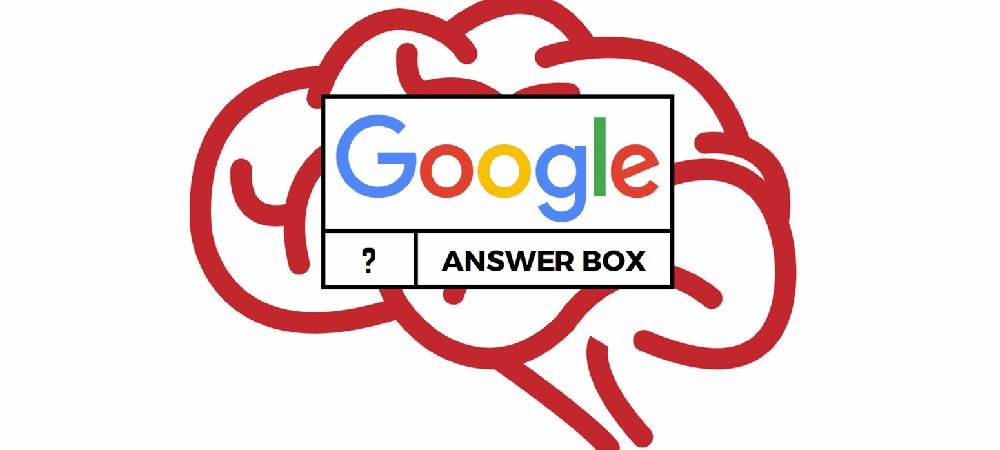 Google inteligentnie Ci odpowie – sprawdzamy funkcje Answer box i RankBrain