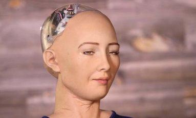 Android Sophia założy firmę, a później zniszczy ludzkość