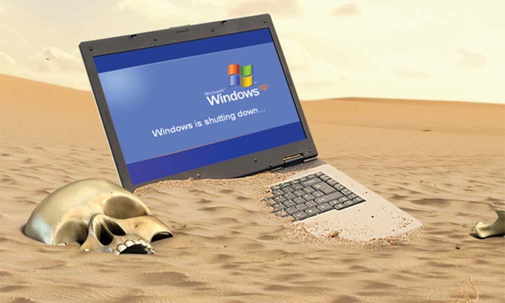 Windows XP ciągle żywy
