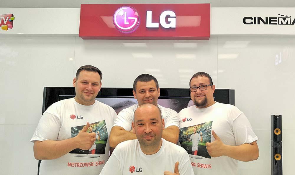 Ruszył mistrzowski serwis LG Electronic Polska