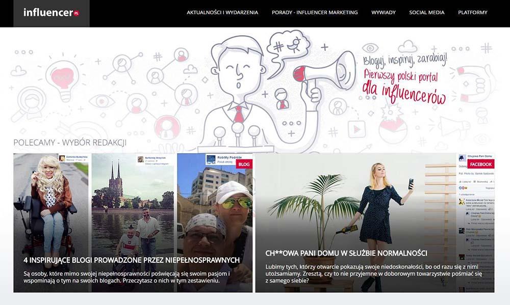 Nowe miejsce w sieci dla influencerów