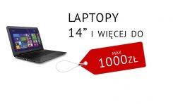 3 pomysły na nowy laptop min. 14 cali do 1000zł