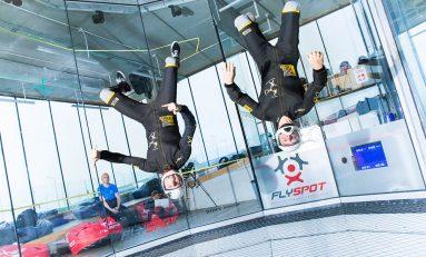 Lot w tunelu aerodynamicznym – podaruj w prezencie!