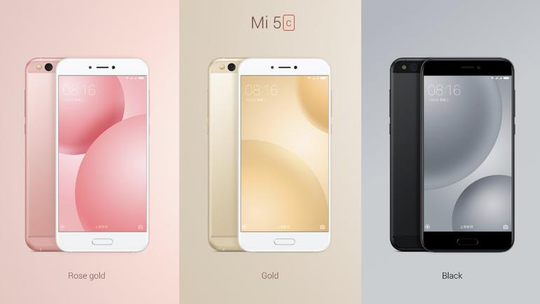 Xiaomi zaprezentował nowy telefon Mi 5c z własnym procesorem Surge S1