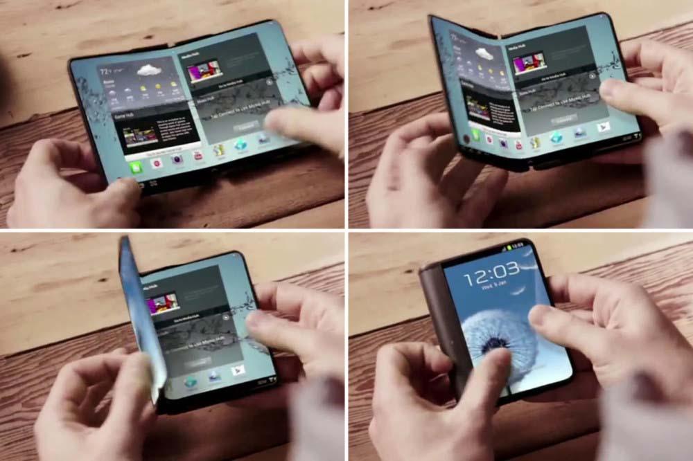 Samsung może zaprezentować prototyp składanego smartfona na Mobile World Congress